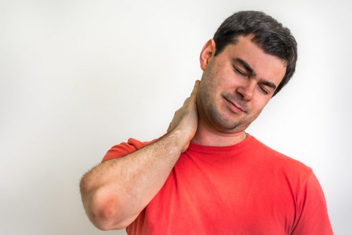 neck pain treated at our chiropractor in abergavenny